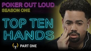 POKER OUT LOUD   TOP 10 HANDS   Season 1 | S4YTV POL | Solve For Why