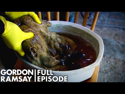Jonathan Ross Attempts To Cook For Gordon Ramsay | The F Word FULL EPISODE
