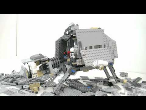 Vidéo LEGO Star Wars 8129 : AT-AT Walker