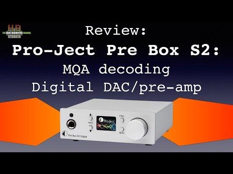 Pro Ject Pre Box S2 Digital: MQA decoding Digital DAC/pre-amp