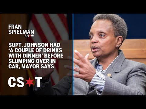 Supt. Johnson had 'a couple of drinks with dinner' before slumping over in car, mayor says