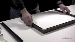 Assembling metal frames