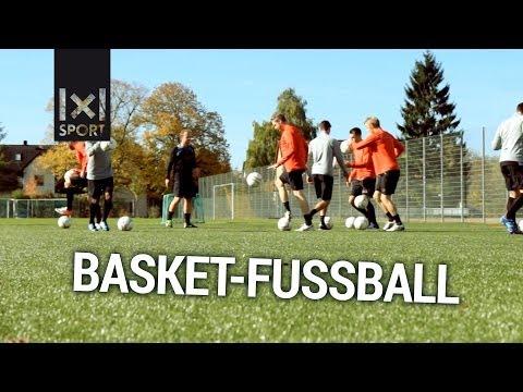 Fußballübung