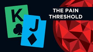 The Pain Threshold In Poker (Bet Sizing & Pressure)
