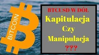 Bitcoin: Kapitulacja czy Manipulacja ??? BTC analiza 25.11.2018