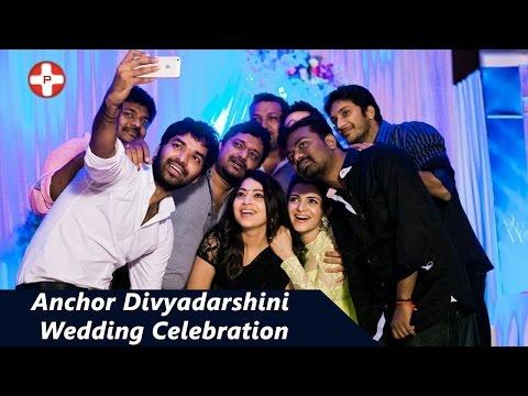 Anchor Divyadarshini wedding celebration | DD | Vijay TV | PluzMedia Tamil