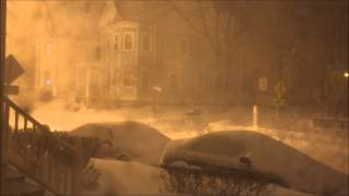 preview picture of video 'Boston Blizzard 2013 Time Lapse'