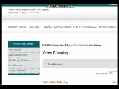 Cara Bayar SBMPTN Via Internet Banking Bni