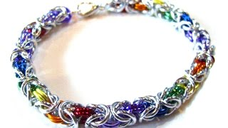 Byzantine Weave Chainmaille Tutorial