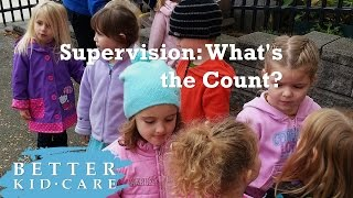 Supervision: What's the Count?