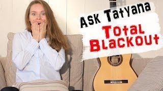Memorization - How to avoid Blackout - by Tatyana Ryzhkova