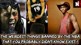 The Weirdest Things The NBA Actually Banned!
