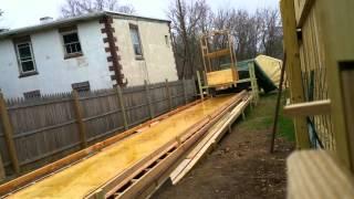 Backyard bowling construction