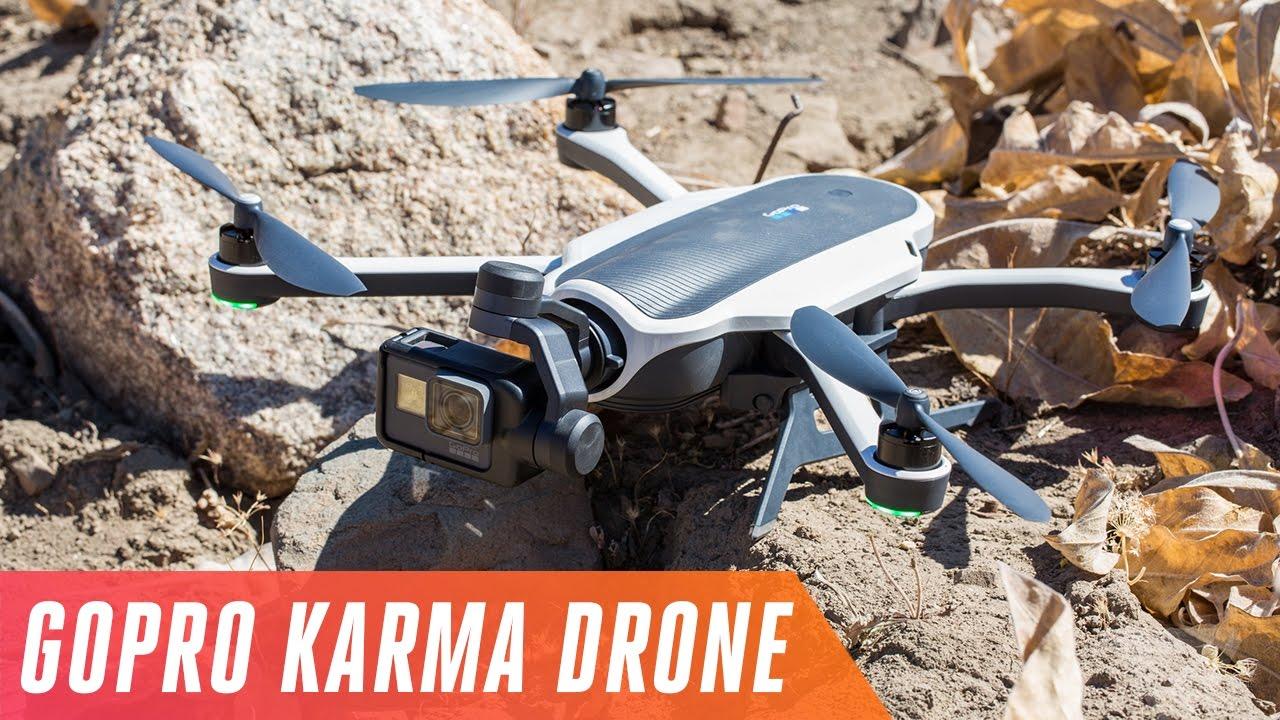 GoPro's new Karma drone: test flight thumbnail