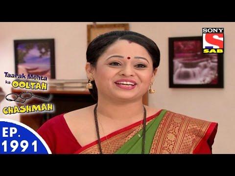Taarak Mehta Ka Ooltah Chashmah - तारक मेहता - Episode 1991 - 29th July, 2016