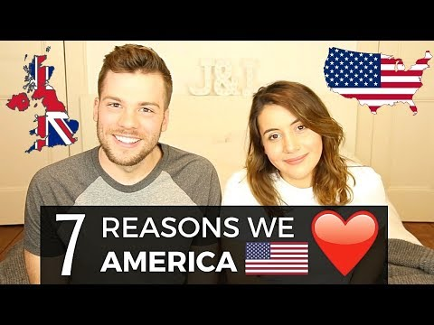 7 Things Brits LOVE About the USA! 🇺🇸❤️