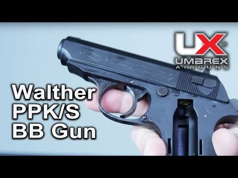 Walther PPKs Co2 4.5mm BB Video