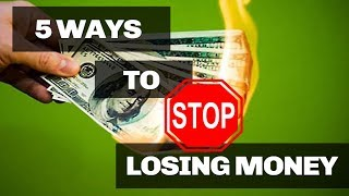 5 Ways to STOP LOSING MONEY in Poker - Poker Strategies You Need to Know