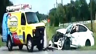 🇺🇸 AMERICAN CAR CRASH / INSTANT KARMA COMPILATION #215