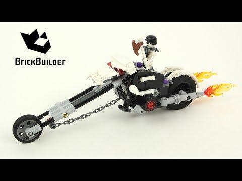 Vidéo LEGO Ninjago 2259 : La moto squelette