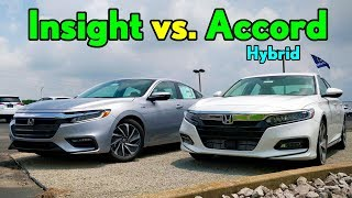 Best $30K Honda Hybrid -- 2019 Honda Insight vs. Honda Accord Hybrid: Comparison