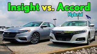 Best $30K Honda Hybrid -- 2019 Honda Insight vs. Honda Accord Hybrid: Comparison