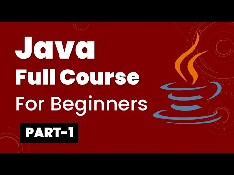 Java Full Course for Beginners Part-1
