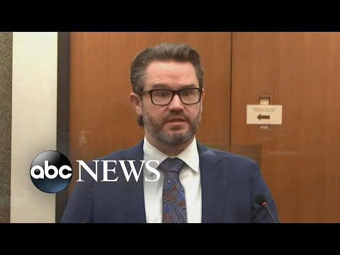 Defense questions Shawanda Hill in Chauvin trial l ABC News