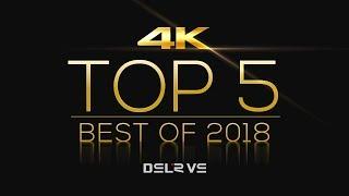 TOP 5 BEST 4K DSLR/M Cameras 2018