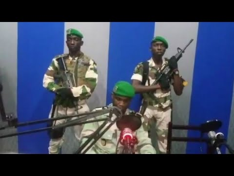 Image result for Gabon soldiers seize national radio station in coup attempt l Al Jazeera English