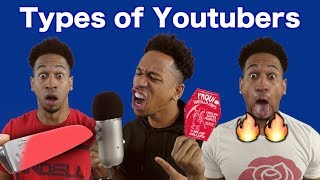 Types Of YouTubers