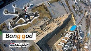 "DRONE FREESTYLE SESSION - Iris Laval - BangGod 5"" 6S - iFlight XING-E 2207 + GepRC Span F7 + DJI FPV"