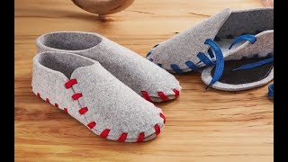 Lasso Slippers: Cozy, Colorful Slippers That YOU Make. | The Grommet®