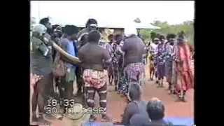 Traditional Aboriginal dance Mamurrung ceremony from Goulburn Island, Arnhem Land, 1996