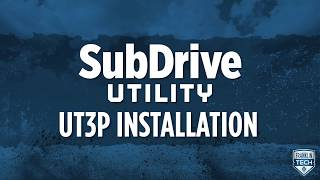 SubDrive Utility UT3P Installation Video