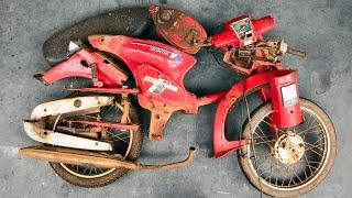 1978 Honda Super Cub C70 Frame RESTORATION | Restoration of 1978 Honda Super Cub C70 Part3