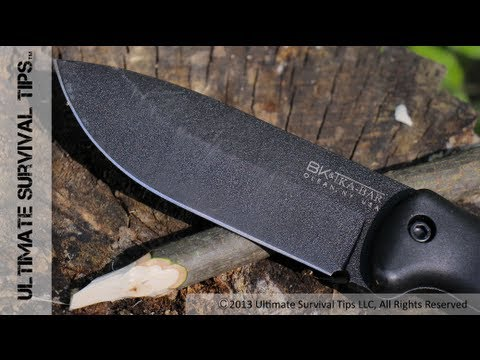 Ka-Bar Becker BK2 Survival / Bushcraft Knife – REVIEW – Nearly Indestructible Tank of a Knife