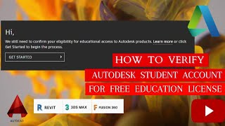 Autodesk Student Account Verification 2021-How to create & verify for free Student License