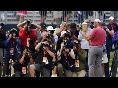 Golf : John Rahm devient n°1 mondial et premier Espagnol à remporter l'US Open Golf : John Rahm devient n°1 mondial et premier Espagnol à remporter l'US Open