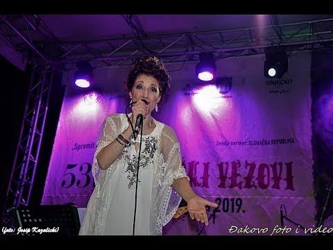 Doris Dragovic - Necu propast ja (LIVE, Djakovo, 6 7 2019