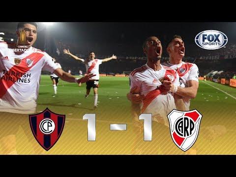 MILLONARIOS NA SEMIFINAL! Melhores momentos de Cerro Porteño 1 x 1 River Plate pela Libertadores