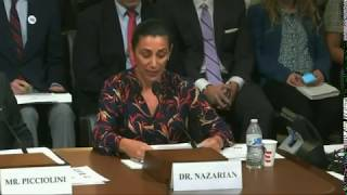 "Sharon Nazarian (ADL) on ""Hate Beyond Borders"" – the report prepared in cooperation with NEVER AGAIN, U.S. Congress, 18.09.2019."