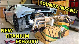 Rebuilding A Wrecked Lamborghini Huracan Part 23