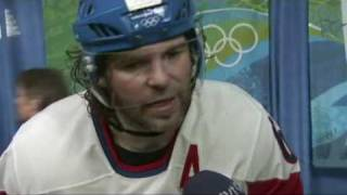 JAROMIR JAGR ABOUT THE BIG HIT FROM ALEXANDER OVECHKIN