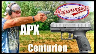 Beretta APX Centurion 9mm Review: Glock 19 Competition?