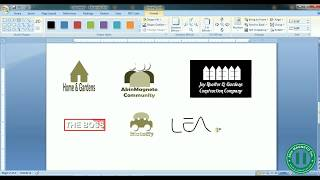 125 Amazing Drawn Logo Using Microsoft Word   How To Design Logo In Microsoft Word ( Part B)