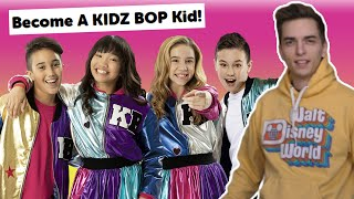I Auditioned For Kidz Bop