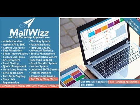 How to use mailwizz for bulk emailing both backend and