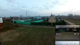 Syma X8HW с камерой EKEN H9R + камера FPV c OSD/GPS