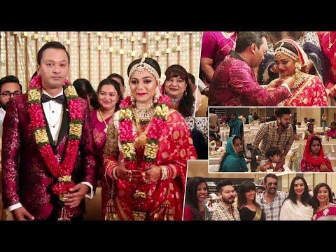 Jagathy Sreekumar daughter Sreelakshmi Marriage   Sreelakshmi Wedding with Jijin Jahangir